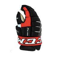CCM Tacks 4R Pro2 SR, čierna-červená-biela, Senior - Hokejové rukavice