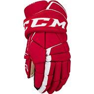 CCM Super Tacks AS1 JR, červená-biela, Junior - Hokejové rukavice
