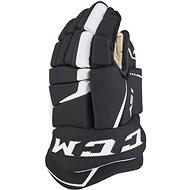 CCM Super Tacks AS1 YTH, čierna-biela, Detská - Hokejové rukavice