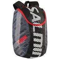Salming Pro Tour Backpack Čierny/Červený - Batoh