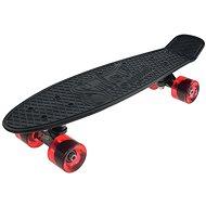 """Sulov Retro Venice čierno-červený veľ. 22"""" - Plastový skateboard"""