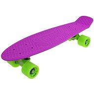 """Sulov Via Dolce fialovo-zelený veľ. 22"""" - Plastový skateboard"""