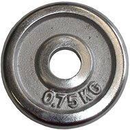 Acra Závažie chrómové 0,75 kg/tyč 25 mm