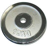 Acra Chrome Weight 10kg/25mm Rod - Disc