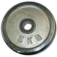 Acra Závažie chrómové 5 kg/tyč 25 mm - Závažie na činky