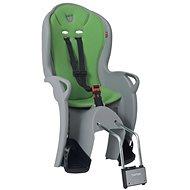 Hamax Kiss sivá/zelená - Detská sedačka na bicykel