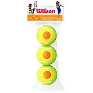 Wilson STARTER ORANGE TBALL 3 PACK - Tenisová loptička
