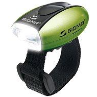 Sigma Micro zelená/predné svetlo LED-biela - Svetlo na bicykel