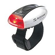 Sigma Micro, strieborné/zadné svetlo LED–červené