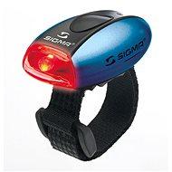 Sigma Micro modrá/zadné svetlo LED-červená - Svetlo na bicykel