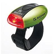 Sigma Micro zelená/zadné svetlo LED-červená - Svetlo na bicykel