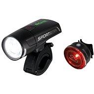 Sigma Sportster + Mono RL čierna - Svetlo na bicykel