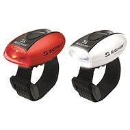 Sigma Súprava Micro červená + biela/LED-červená + biela - Svetlo na bicykel