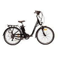 Agogs CityLiner Class čierny 16 Ah - Elektrický mestský bicykel