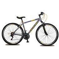 "Olpran Player 28 – M/19"" sivý/béžový (2017) - Crossový bicykel"