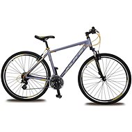 "Olpran Harrier 28 – S/17"" grey/yellow/black - Crossový bicykel"