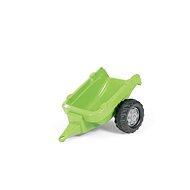 Vlečka za traktor 1-osá – svetlo zelená - Šliapací traktor