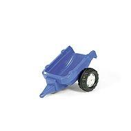 Vlečka za traktor 1-osá – modrá - Šliapací traktor