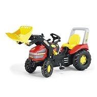 X – track s nakladačom - Šliapací traktor