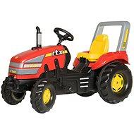 X-Trac červený - Šliapací traktor