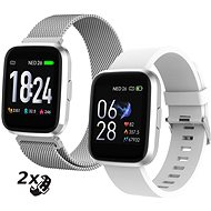 iGET FIT F30 Silver - Smart hodinky