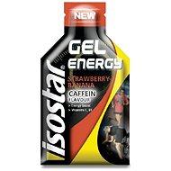 Energetický gél ISOSTAR 35 g gel coffein jahoda, banán - Energetický gel