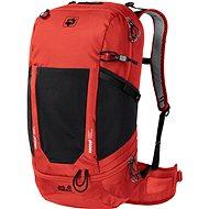 Turistický batoh Jack Wolfskin Kingston 30 Pack Recco, červený
