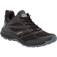 Jack Wolfskin Woodland Vent low M čierna/sivá - Trekingové topánky