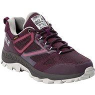 Jack Wolfskin Downhill Texapore low W fialová - Trekingové topánky
