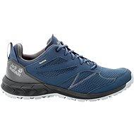 Jack Wolfskin Woodland Texapore low M modrá/sivá - Trekingové topánky