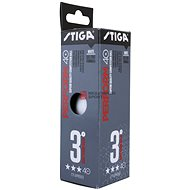 Stiga Perform ***, ITTF, White, 3pcs - 3 packs - Table Tennis Balls