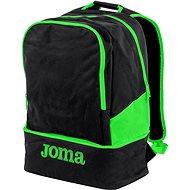 Joma Backpack Estadio III black-fluor green - Športový batoh