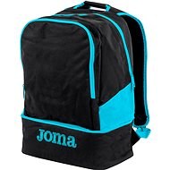 Joma Backpack Estadio III black-fluor turquoise
