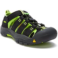 KEEN NEWPORT H2 JR. black/lime green - Sandále