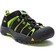 KEEN NEWPORT H2 K black/lime green - Sandále