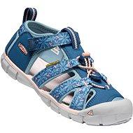 Keen Seacamp II CNX Children real teal/stone blue - Sandále