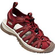 Keen Whisper Women red dahlia - Sandále