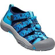 Keen Newport H2 Children vivid blue/katydid - Sandále