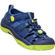 Keen Newport H2 Youth, Blue Depths/Chartreuse - Sandals