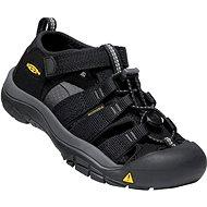 Keen Newport H2 Youth black/keen yellow - Sandále