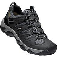 Keen Koven Wp M Black/Drizzle EU 44,5/279 mm - Trekingové topánky