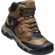 Keen Ridge Flex MID WP Men, Brown/Black, size EU 44.5/279mm - Trekking Shoes