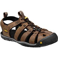 Keen Clearwater CNX Leather M Dark Earth/Black EU 44.5/10mm - Sandals