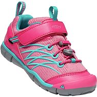 Keen Chandler CNX K bright pink/lake green - Outdoorové topánky