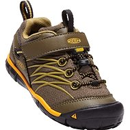 Keen Chandler CNX WP C dark olive/citrus - Outdoorové topánky