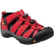 Keen Newport H2 K ribbon red/gargoyle - Sandále