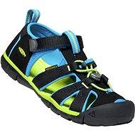 Keen Seacamp II CNX K black/brilliant blue - Sandále