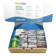 KetoDiet balíček Medium 2. krok (84 porcíi, 3 týždne) - Sada