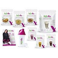 KetoMix Ketonová dieta na 2 týdny - 5 ks + 3 příchutě, 2765 g - Sada