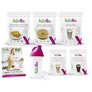KetoMix Ketonová dieta na 7 dní - 4ks + 2 příchutě, 1690 g - Sada